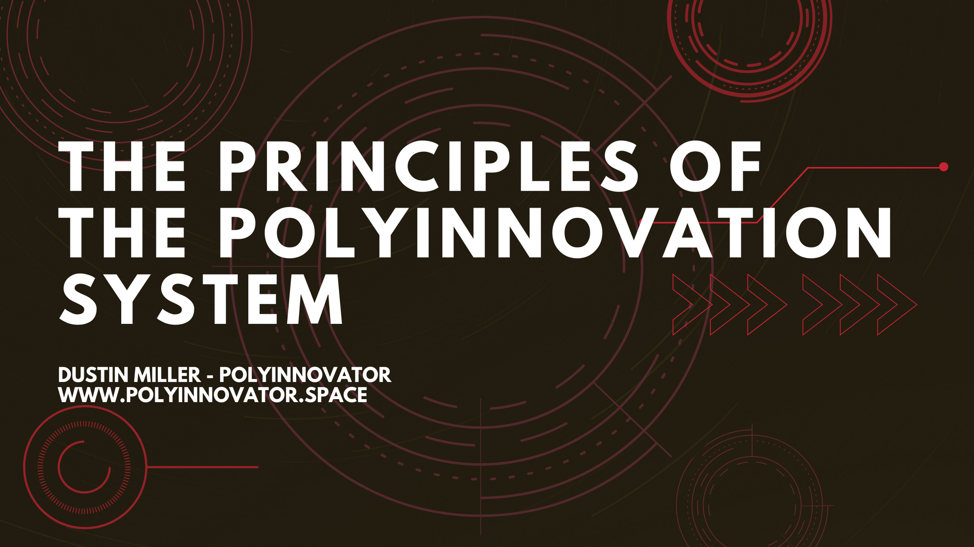 The Principles of the PolyInnovation System