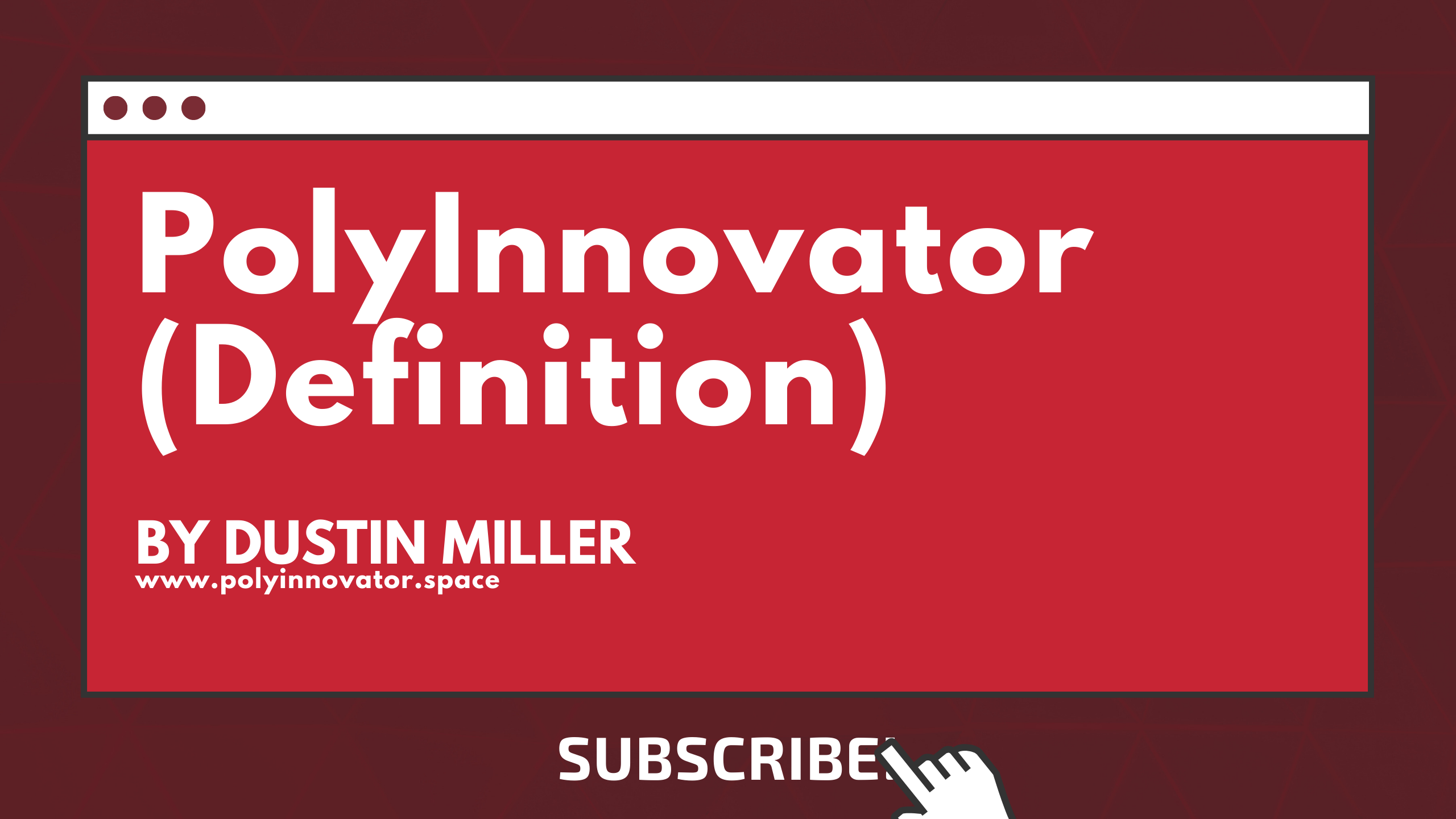 PolyInnovator (Definition)